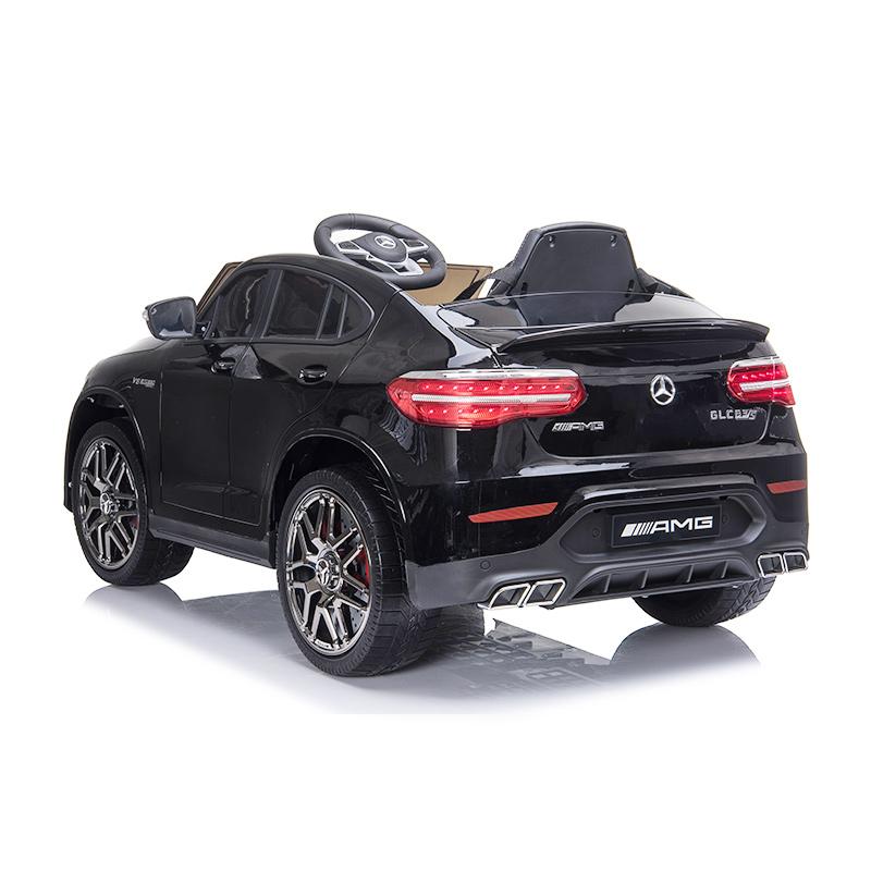 12V Electric Car Mercedes GLC Ride On Toy w// Remote Control Lights MP3 Grey