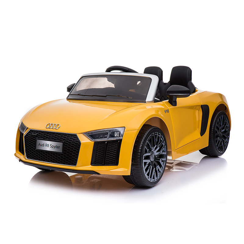 License Audi R8 Ride On Battery Operated Car For Toddlers With Remote