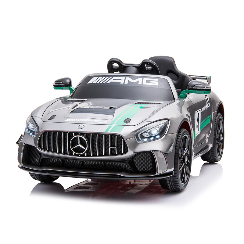 Licensed Electric Toy Car Mercedes Benz GT4 AMG 12 Volt Ride On Car