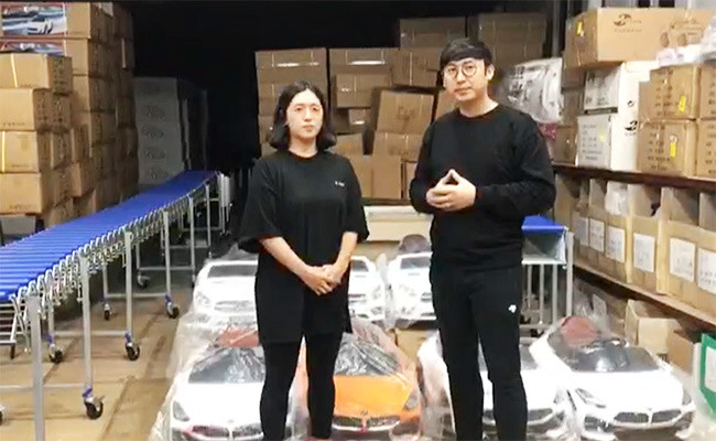 Feedback On Tusi's Kids Ride On From Korea Customer