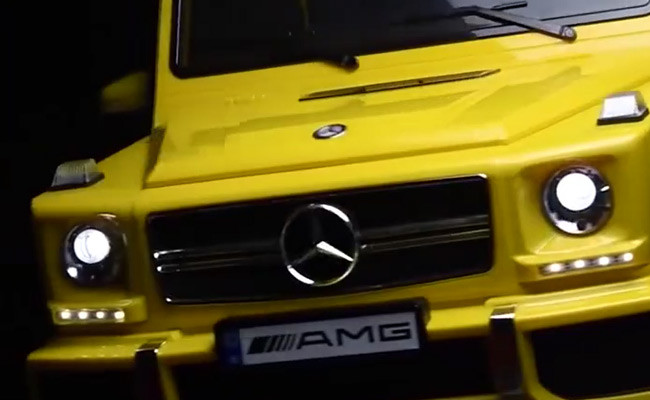 Mercedes Benz G63 AMG big electric children car