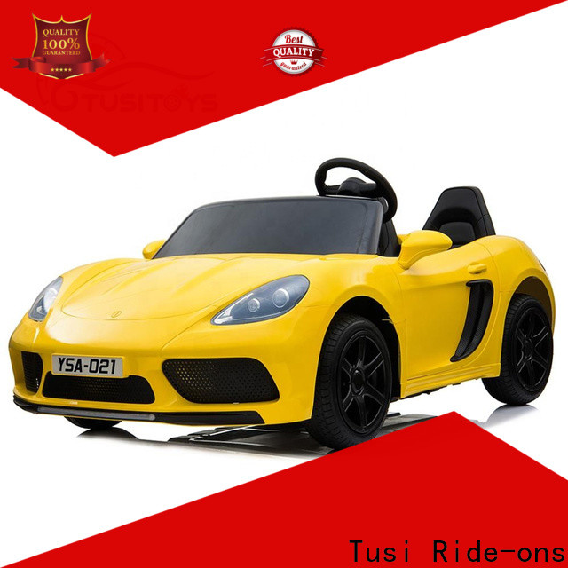 Tusi range kids motorized cars for busniess for sale