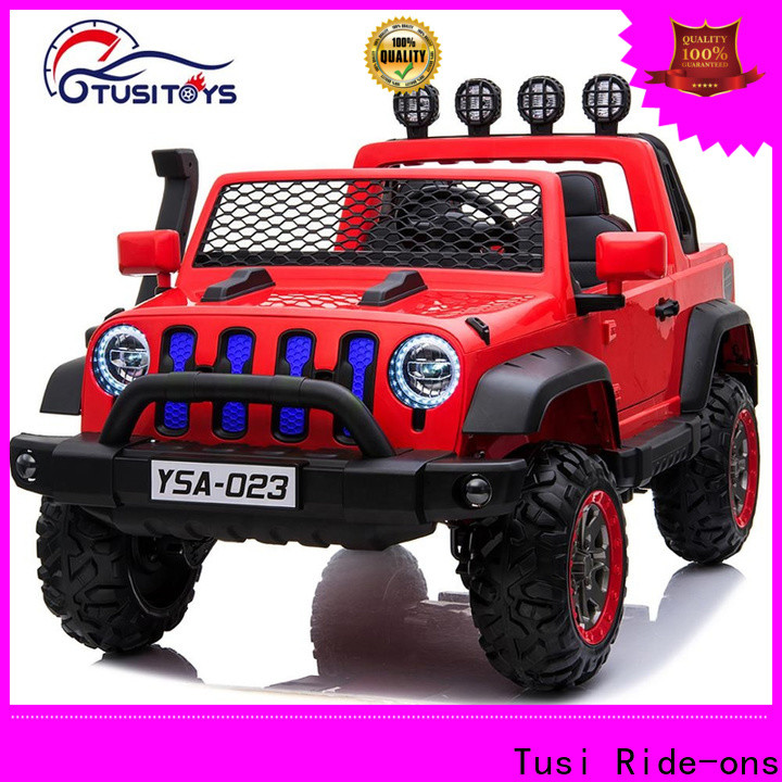 Tusi monster kids drivable cars factory for entertainments
