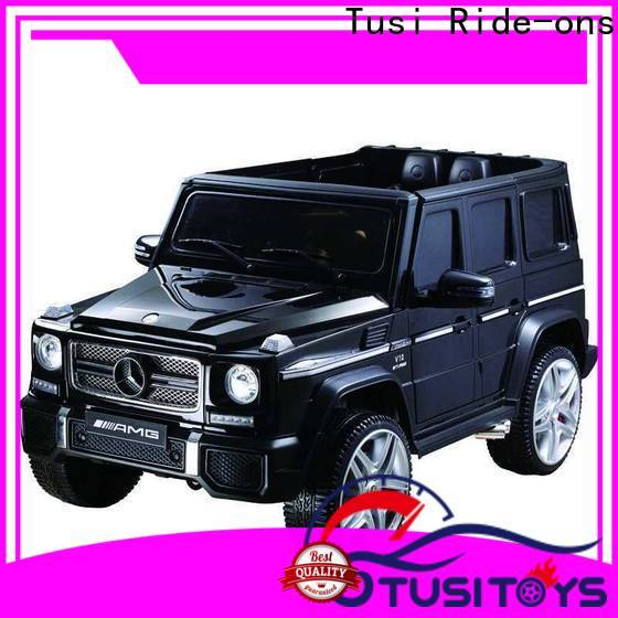 Tusi mercedes motorized ride on toys new design for outdoor