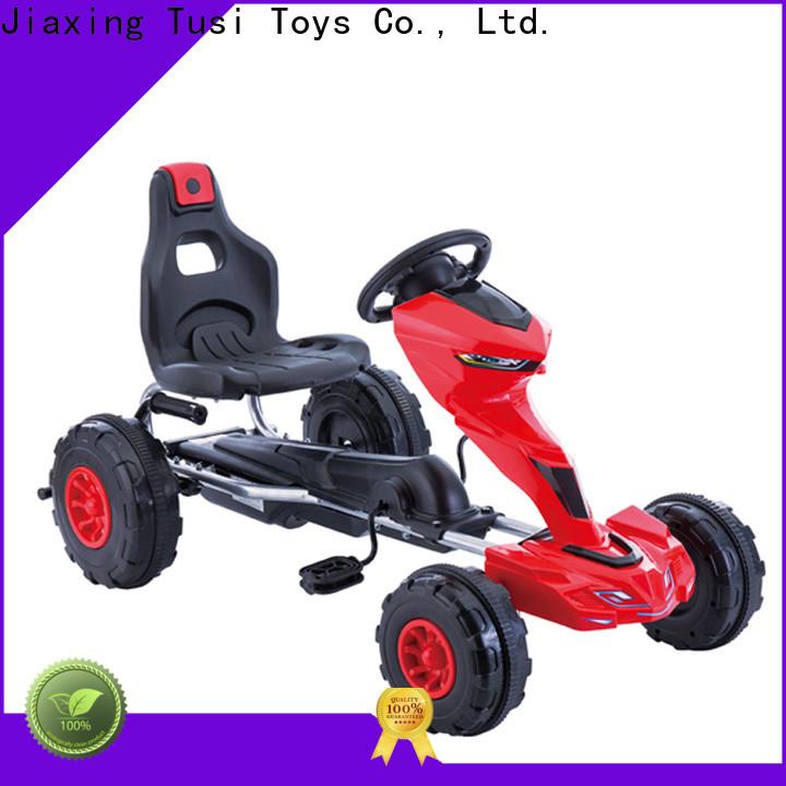 Tusi high quality toddler go kart manufacturer for children