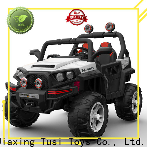 Tusi good selling childrens ride on cars company for entertainments