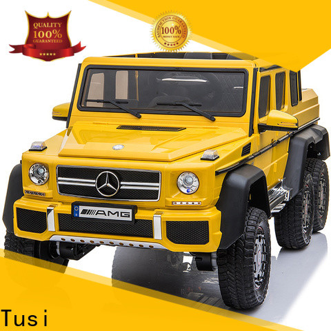 Tusi cheap ride on cars factory price for family
