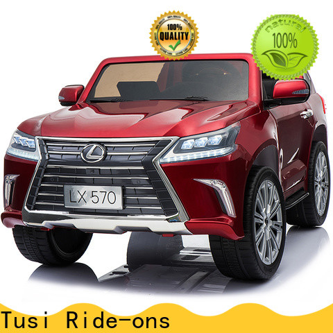 Tusi high quality motorized ride on toys new design for entertainments