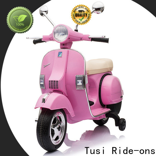 Tusi wholesale toddler ride on motorcycle manufacturer for activities