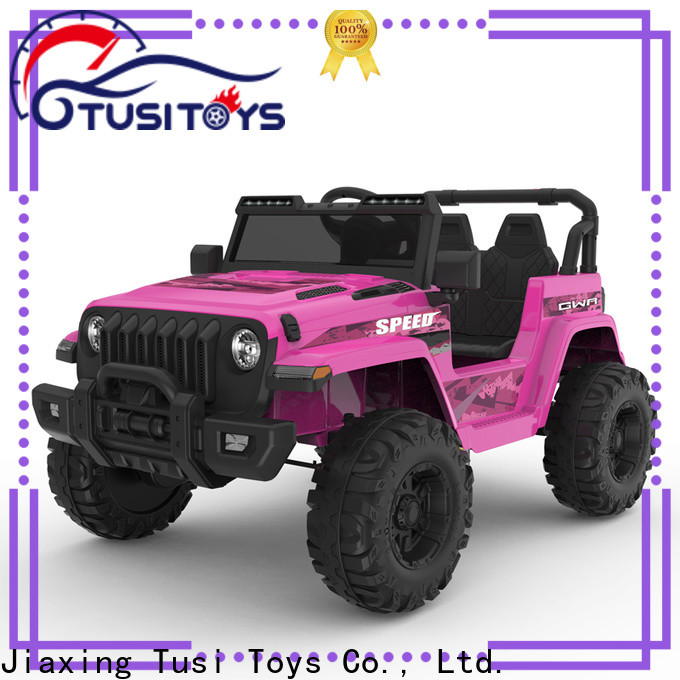 Tusi motorized ride on toys supplier for outdoor