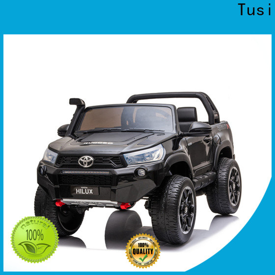 Tusi funny childrens motorized cars manufacturer for outdoor