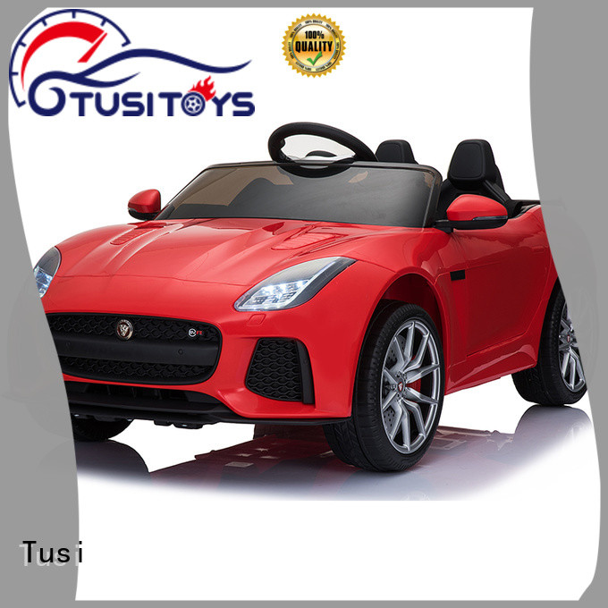 Tusi high quality motorized toy car for busniess for entertainments
