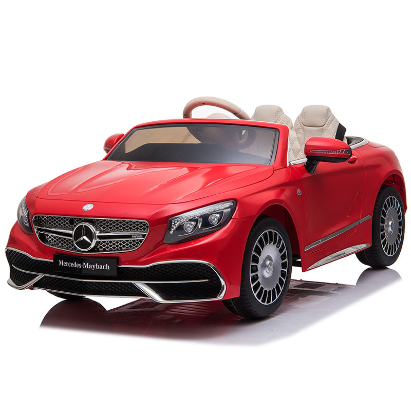 12V Kids Electric Ride-on Car Mercedes Benz Maybach Licensed Ride On