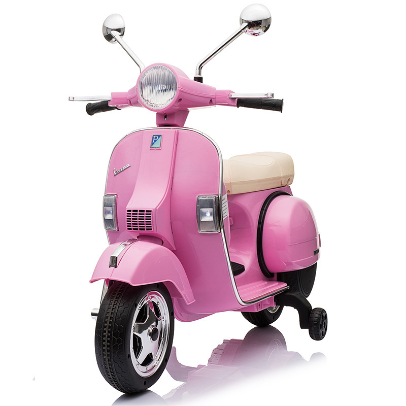 Kids Rechargeable Motorcycle Vespa Ride On Motorcycle