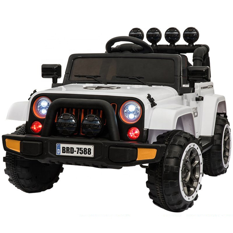 kids battery operated cars 12V rechargeable ride on jeep car