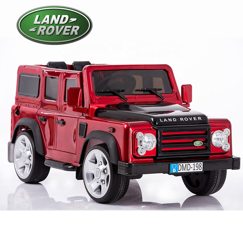 2018 children electric toy car price baby ride on car battery car for kids land rover license