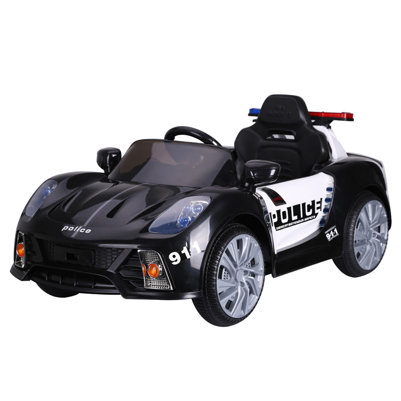 2019 new children's battery powered cars ride on police car with remote control