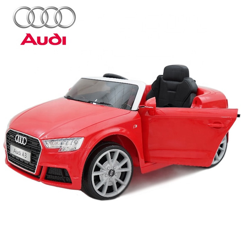 2018 children electric toy car price licensed audi ride on car baby battery car