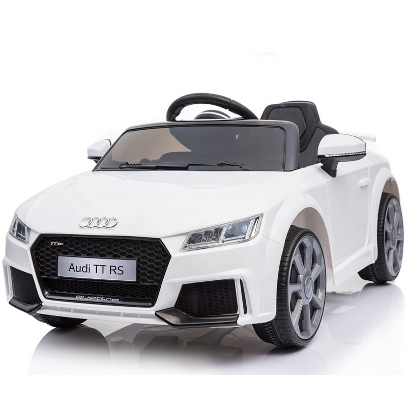 Kids electric cars licensed 12V AUDI ride on car child drivable toy car