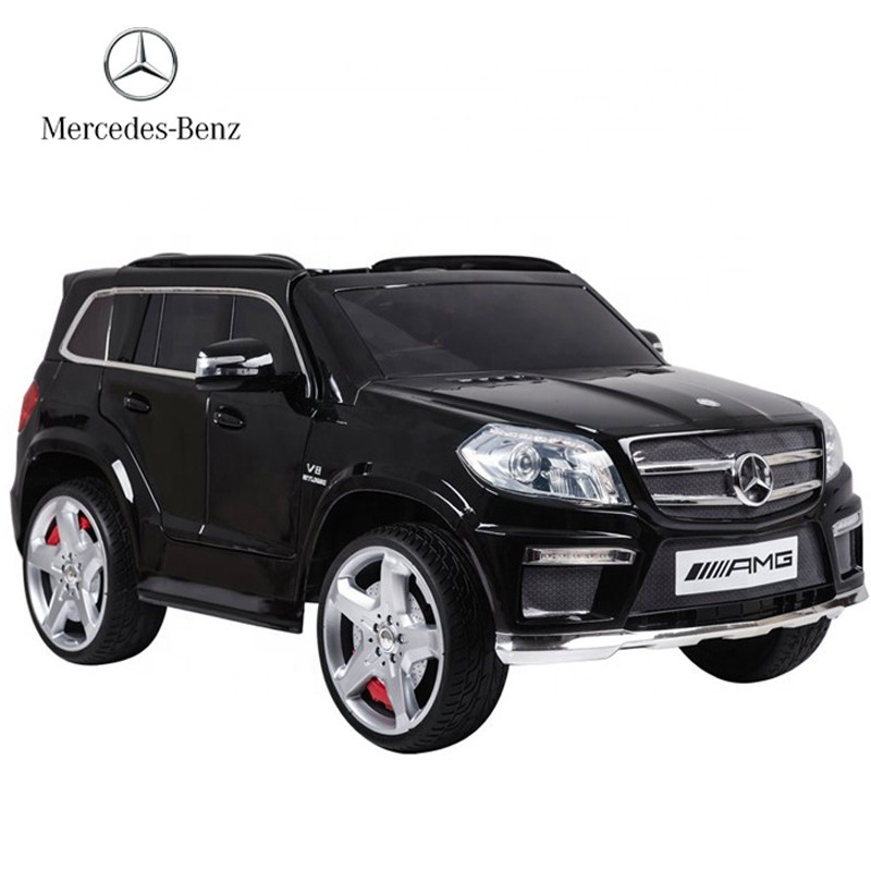 Hot selling licensed children electric toy automatic mercedes ride on car