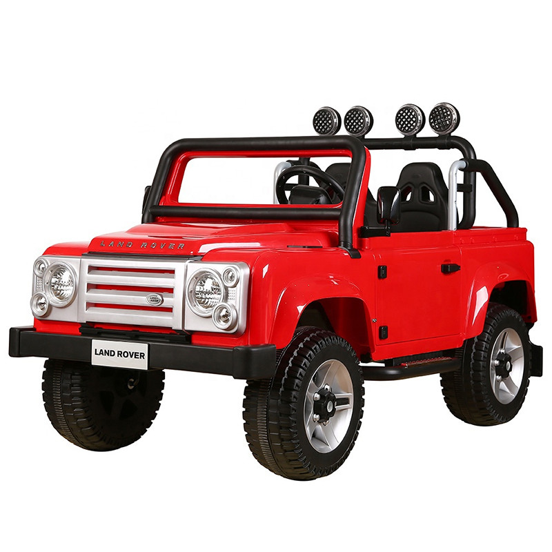 Wholesale rechargeable licensed baby ride on toy car jeep 12V