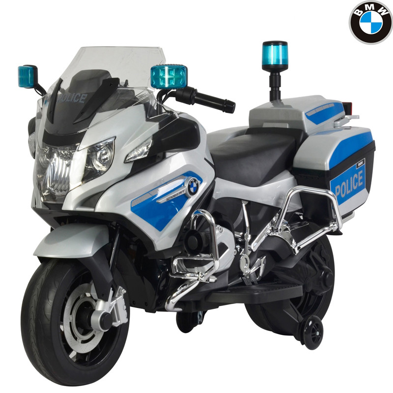 Official License 12v Kids Electric Ride On Police Motorcycle 212