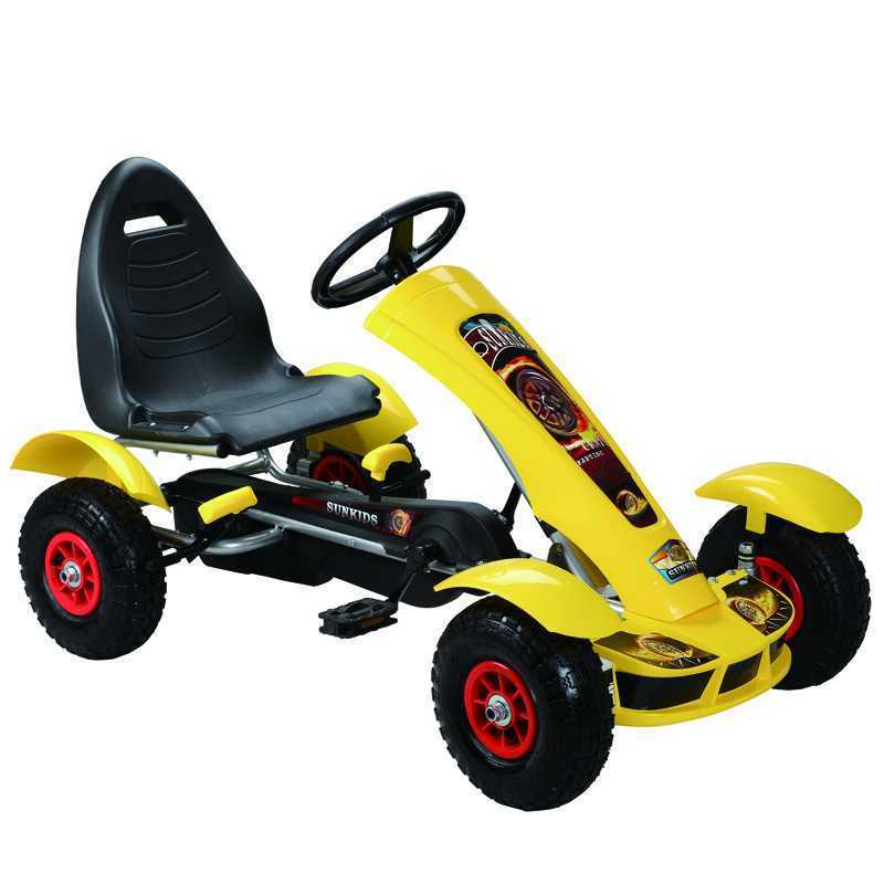Kids Plastic Ride On Go Kart Baby Go Kart F618