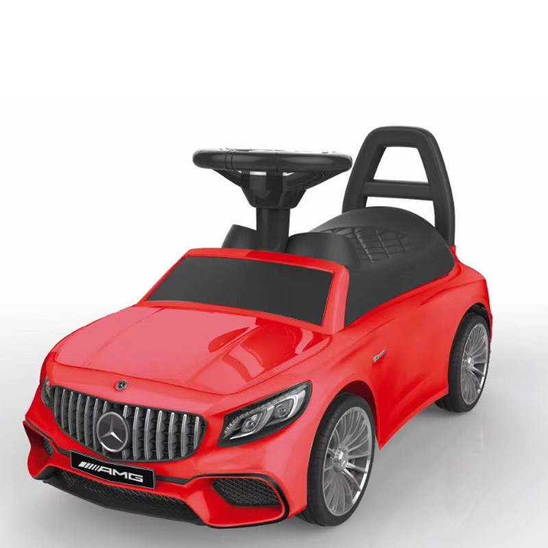 Mercedes-benz license baby ride on walk car kids car
