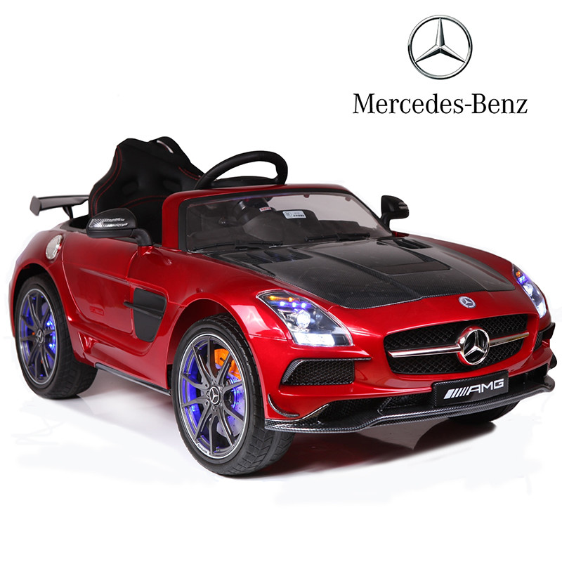 Fashion benz battery kids radio control car mercedes children electric toy car price