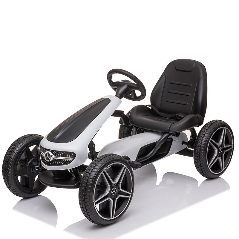 Four Wheels pedal go kart frames one person go-kart Bike Kids toys car