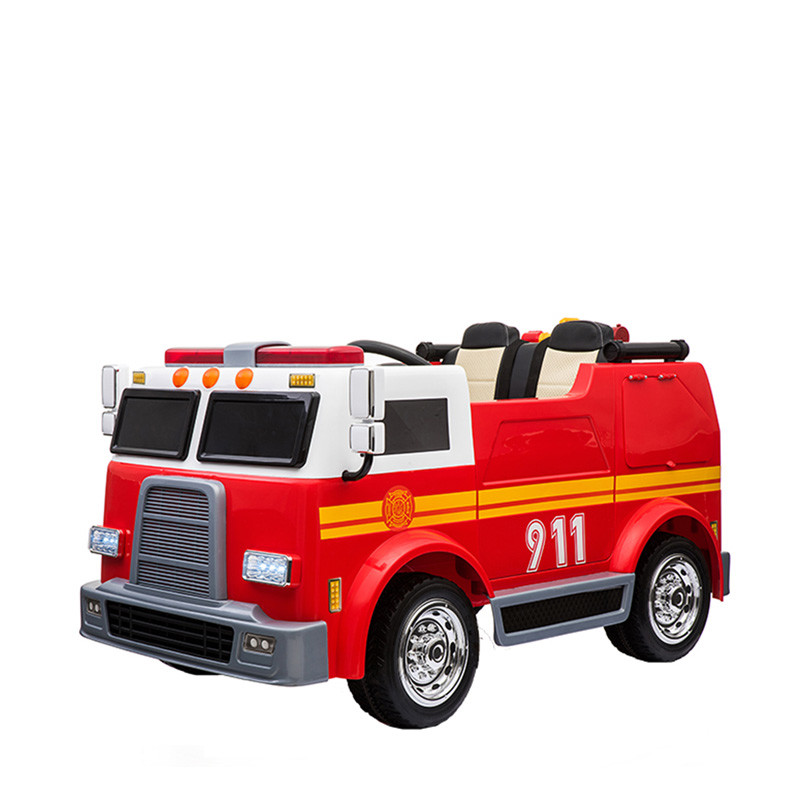2019 kids ride on car fire truck children rc electronic 12V battery car