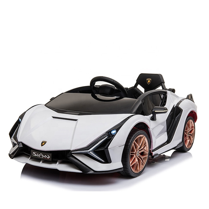 12v battery operated ride on car electric plastic toy car for kids to drive