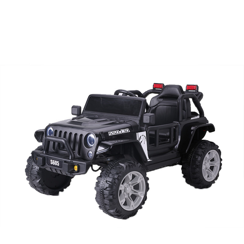 KIDS ELECTRIC RIDE ON JEEP CAR WITH 2.4G R/C