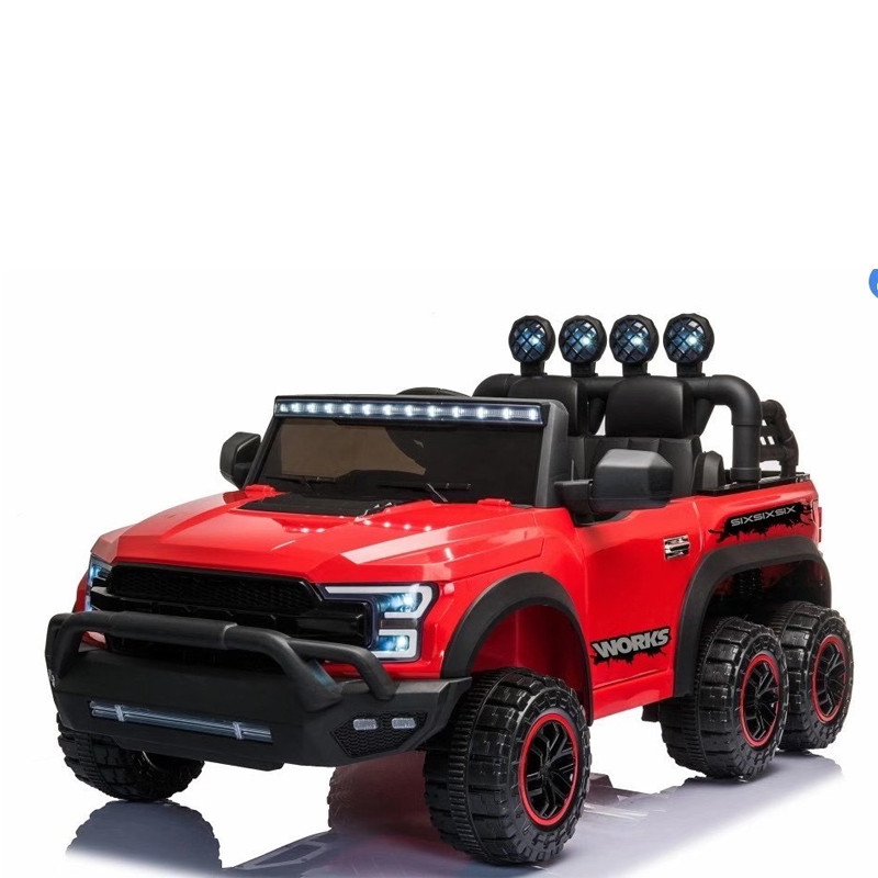 24V kids ride on car six wheel with remote control