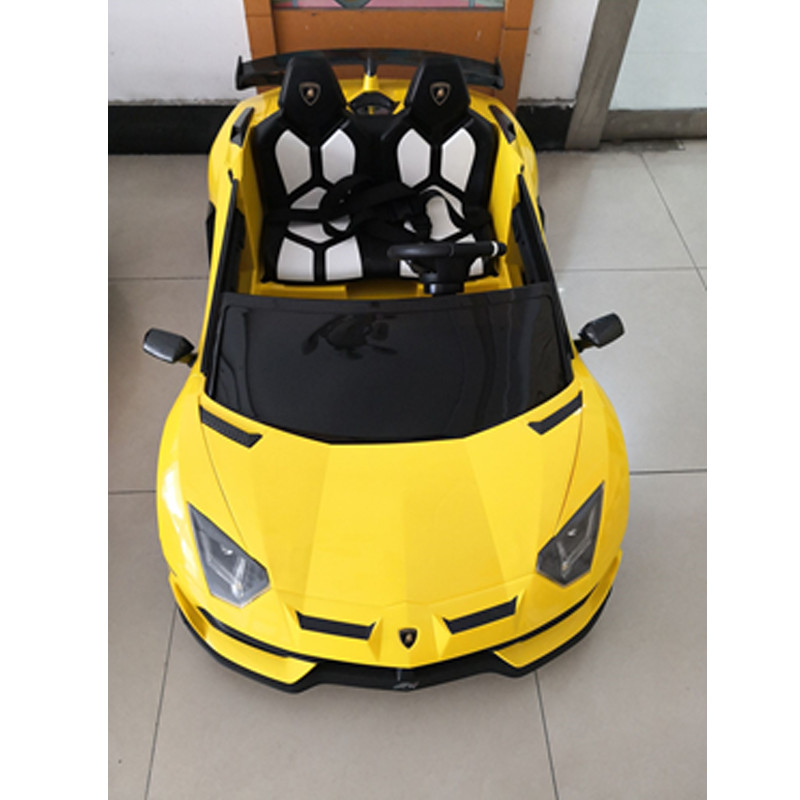 2021 kids ride on toy licensed Lamborghini Aventador SVJ Basic version