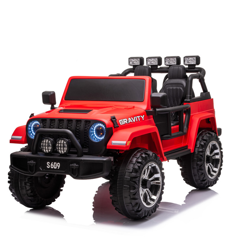 Wholesale 24v battery toy cars for kids to drive rechargeable big children electric ride on car with remote