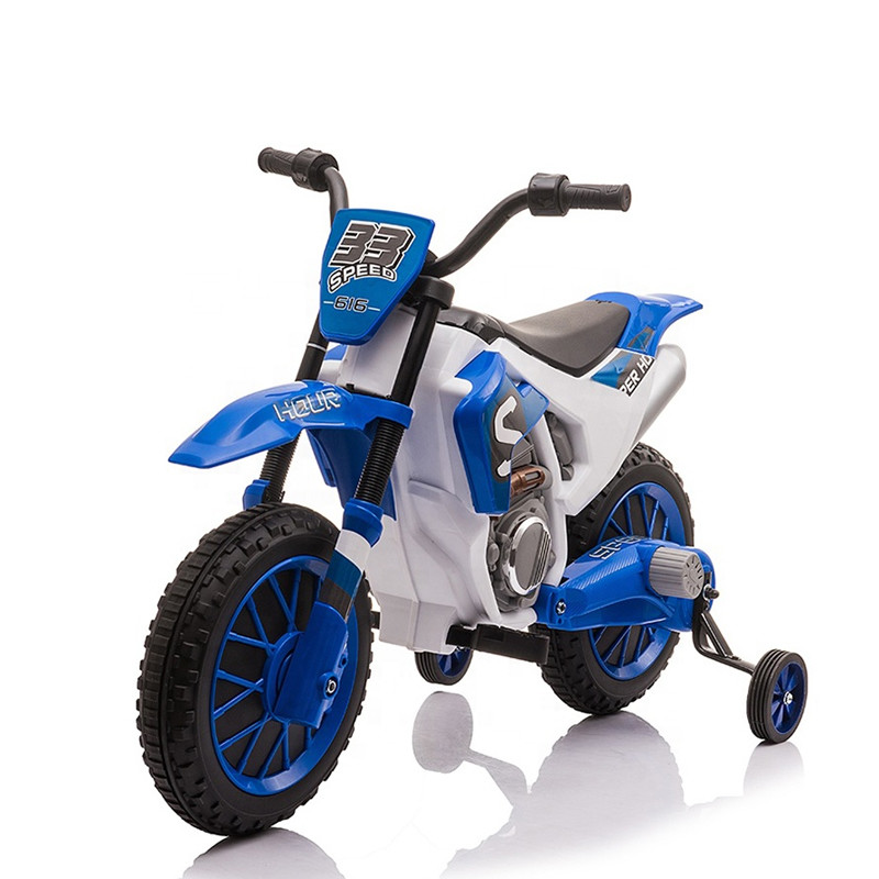 New cheap 12 volt kids electric bike battery power 4 wheels motorcycle