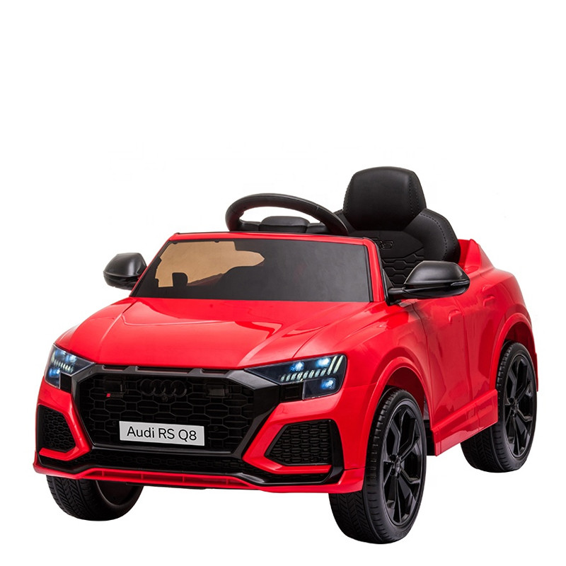 Licensed 12V children electric car AUDI Q8 battery ride on car for kids with remote
