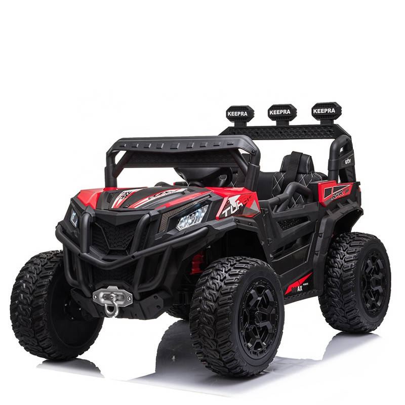 Big UTV for kids two seats with MP3 12V electric ride on remote control car
