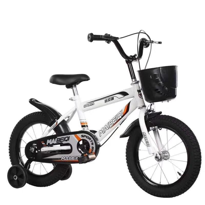kids 4 wheel bike for training / hot sale price child small bicycle /CE certificate 12 inch kids bicycle