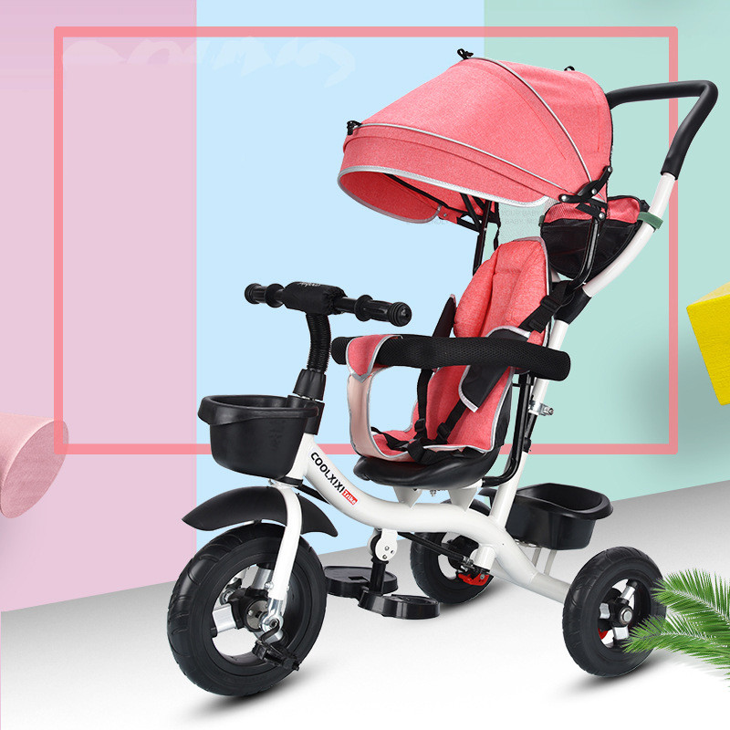 baby stroller foldable new design cheap three wheel bicycle tricycle