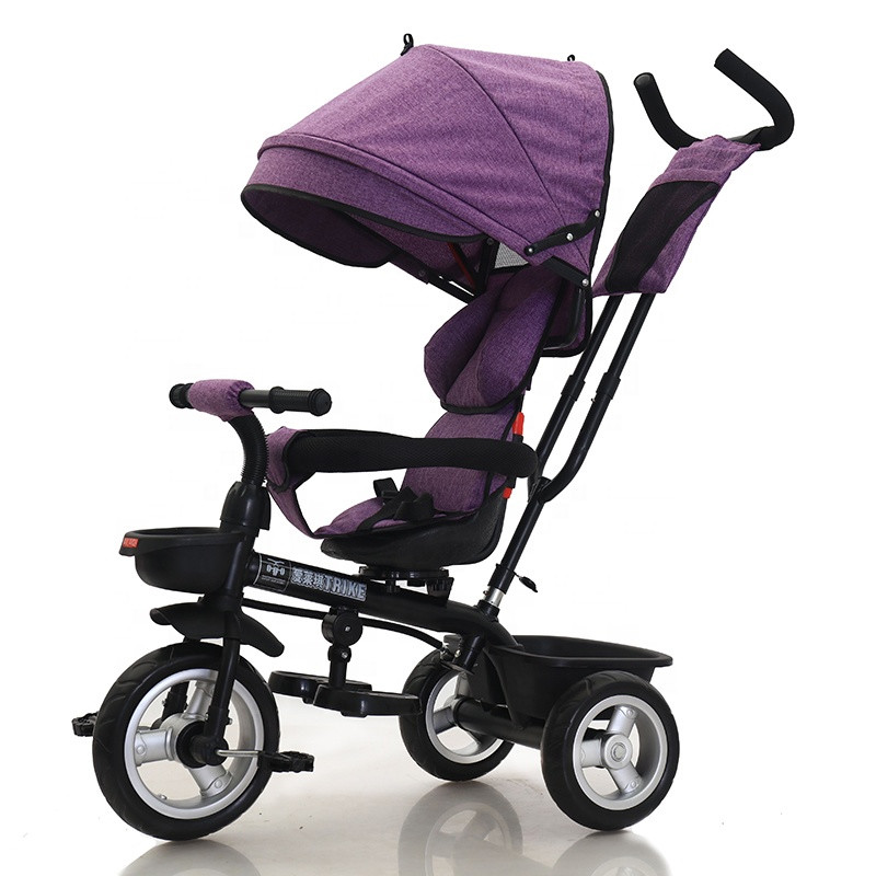 Wholesale cheap tricycle for baby foldable ride on three wheel toy