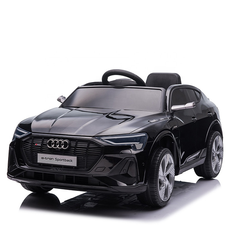 Audi e tron Sportback latest 12V electric ride on toys car for kids parent remote control baby car