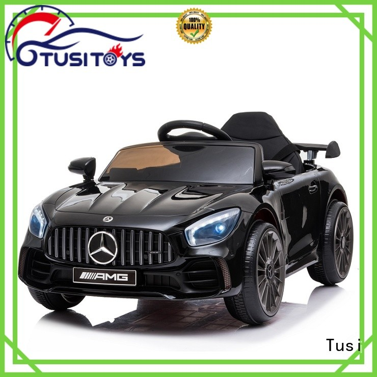 Tusi ride on cars supplier for entertainments