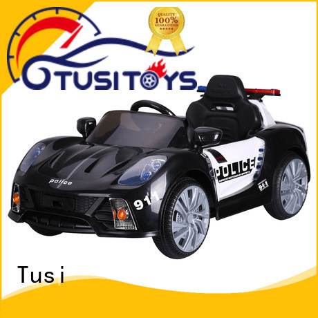 Tusi four wheel cheap ride on cars factory price for outdoor