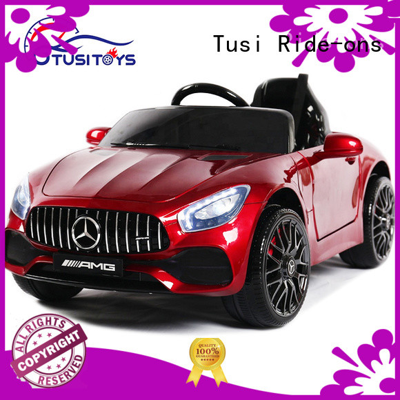 Tusi motorized ride on toys supplier for entertainments