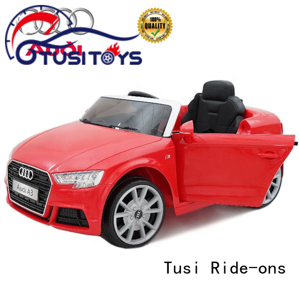 Tusi bdm kids drivable cars supplier for family