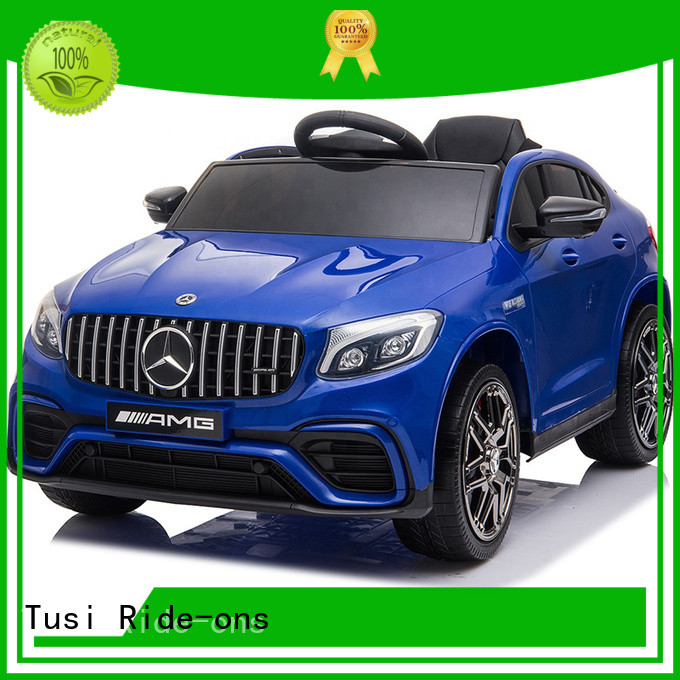 Tusi four wheel kids drivable cars manufacturer for outdoor