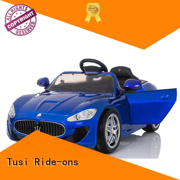 Tusi cheap ride on cars for busniess for entertainments