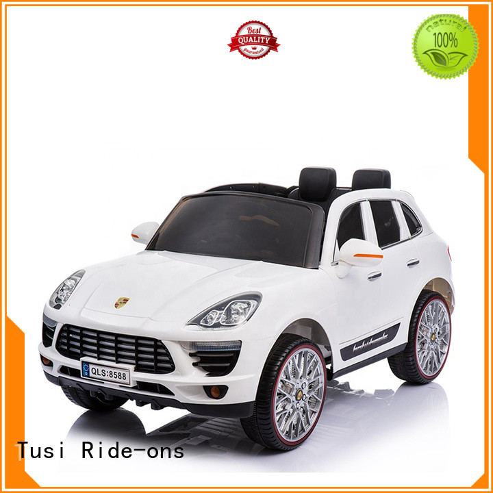 Tusi high quality ride on cars supplier for entertainments